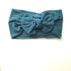 Other - Teal baby/toddler bow headband